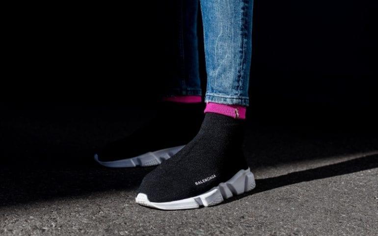 Jongerenmerk Balenciaga sneakers