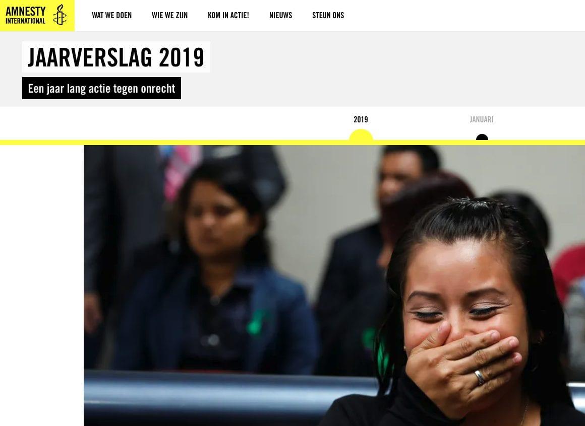 De impactvolle foto van Amnesty.