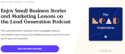 leadpages podcasts