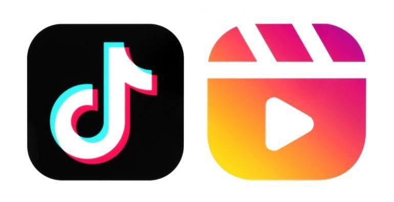 TikTok en Instagram Reels logo