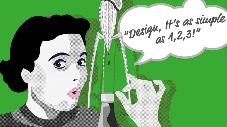 Design is easy as 1, 2, 3!