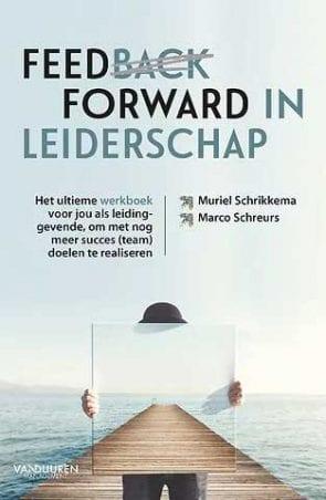 Cover van Feedforward in leiderschap boek.
