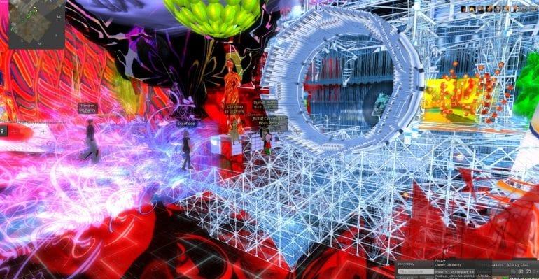 Virtuele werelden, een voorbeeld.
