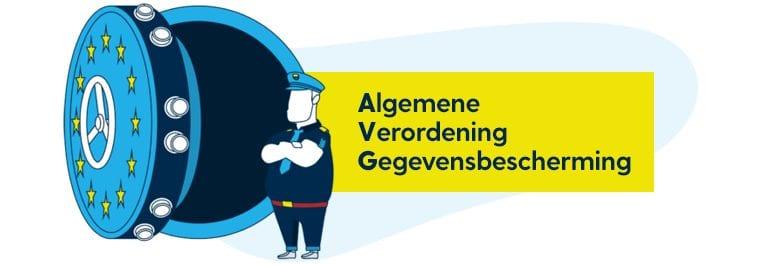Algemene Verordening Gegevensbescherming illustratie.