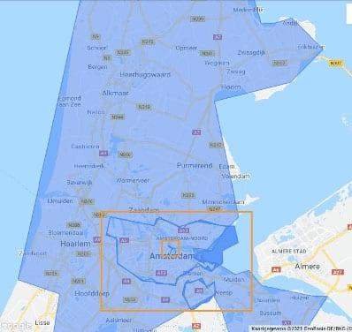 Locatie via Google Ads