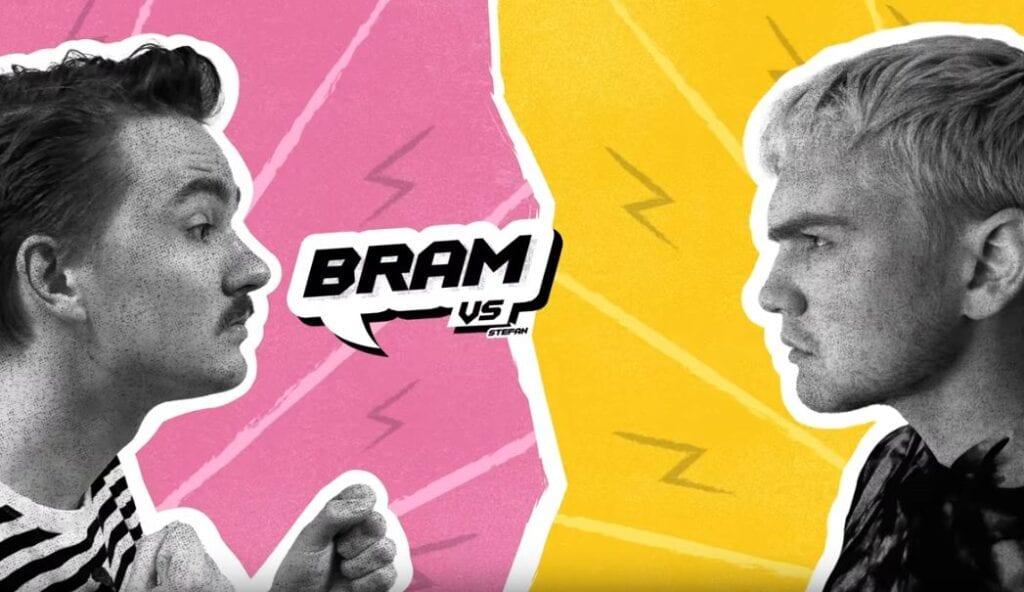 Influencers Bram Krikke en Stefan de Vries