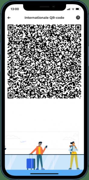 QR-code CoronaCheck