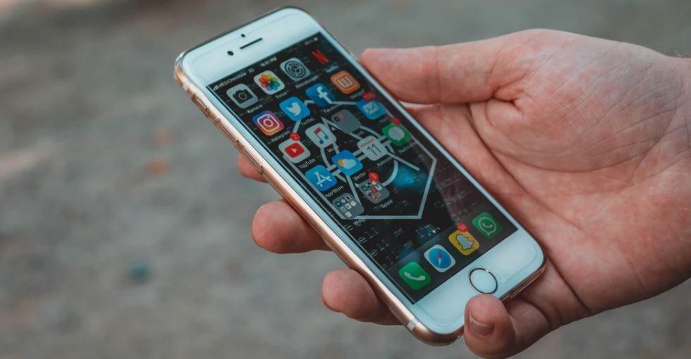 Foto van een Apple Iphone.