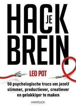 Het boek Hack je brein van Leo Pot.