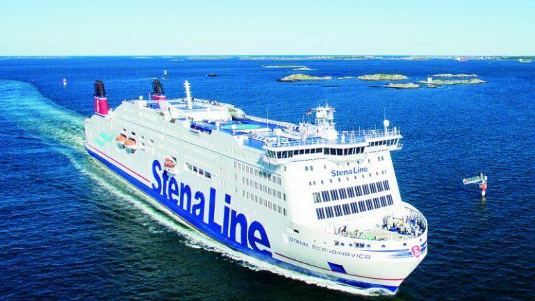 Foto van de boot StenaLine.