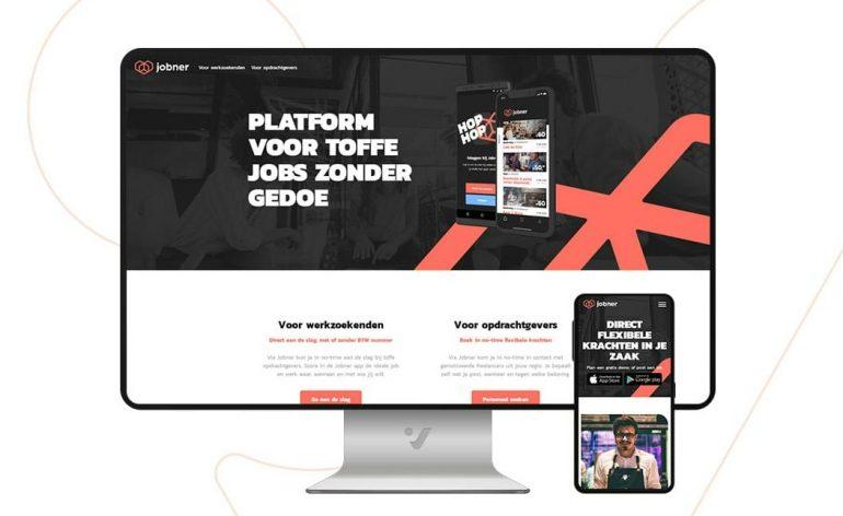 Voorbeeld van Jobner platform.