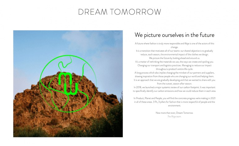Dream tomorrow.